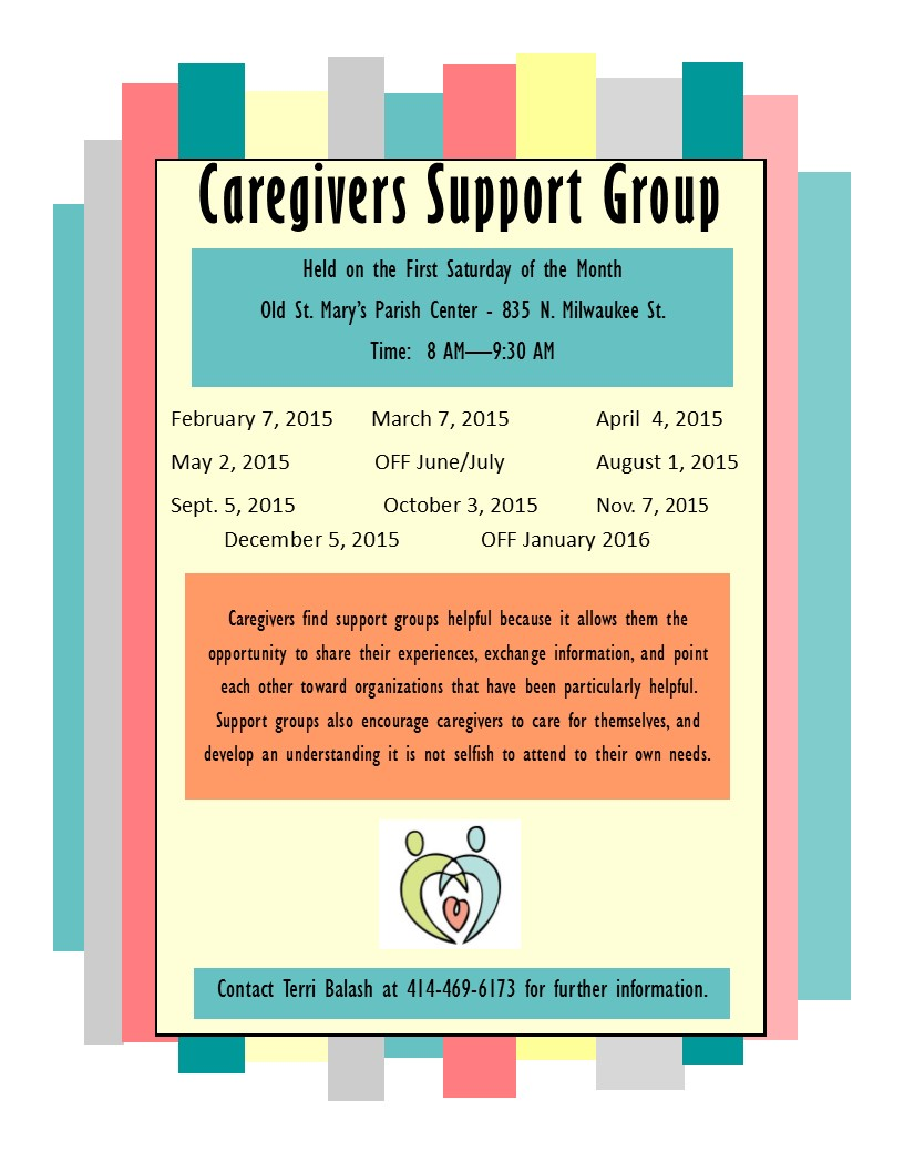 Caregivers support group 2015